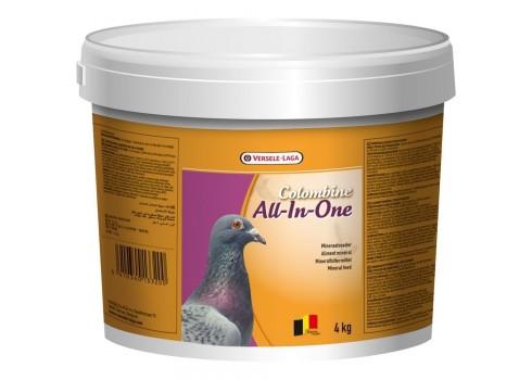 Versele-Laga Colombine Tout en un 4 kg (mélange de minéraux). Pour Des Pigeons