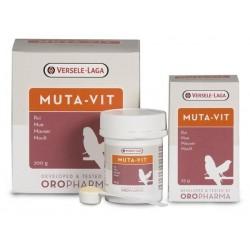 Versele-Laga Muta-Vit 200gr, Mezcla especial de vitaminas, aminoácidos y oligoelementos. Para pájaros de jaula