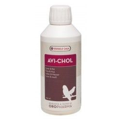 Versele-Laga AviChol 250 ml (tonique pour le foie). Pour les Oiseaux et les Pigeons