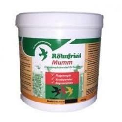Rohnfried Mumm 400 gr. (Electrolitos + glucosa + vitaminas). Para palomas