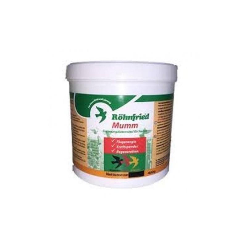 Rohnfried Mumm 400 gr (Électrolytes + glucose + vitamines). Pour des pigeons