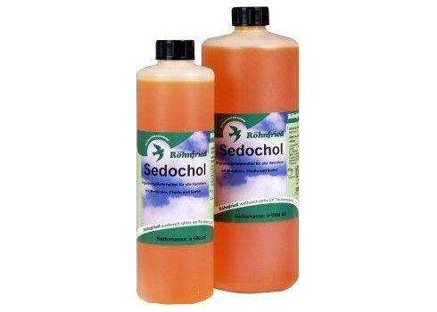 Rohnfried Sedochol 500ml (detoxification of the liver, kidney and blood). For pigeons and birds