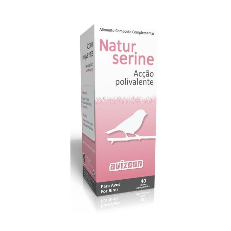 Avizoon Natur Serine micro píldoras, (preventivo 100% natural). Para pájaros