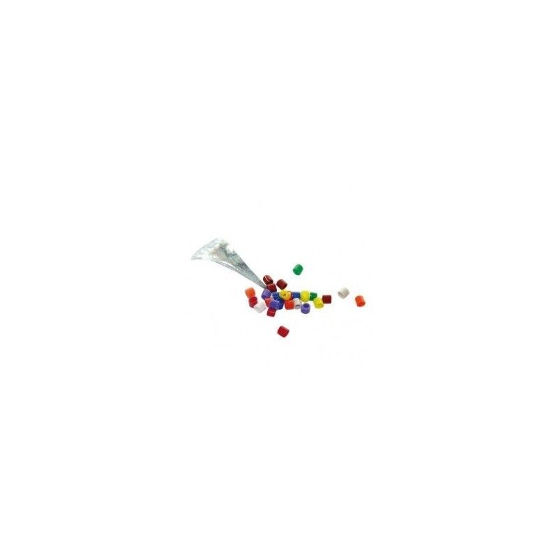 Anillas con Calzador Multicolor, 100ud