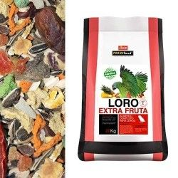 PREMIFOOD LORO EXTRA FRUTA 20 kg
