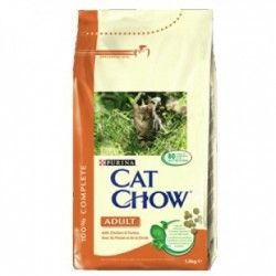 Cat Chow Adult pollo y pavo