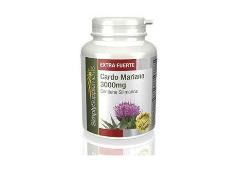 Comprimidos de Cardo Mariano 3000mg