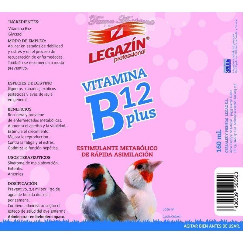 Legazín de Vitamine B12, en Plus de 160 ml.