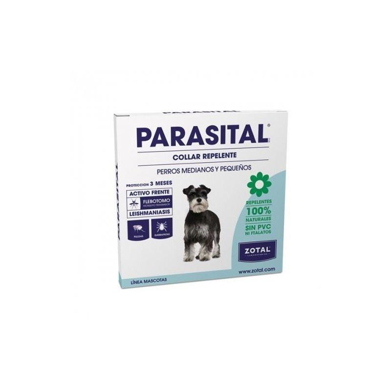 Parasital Collier Insectifuge pour Chiens de Petite et Moyenne