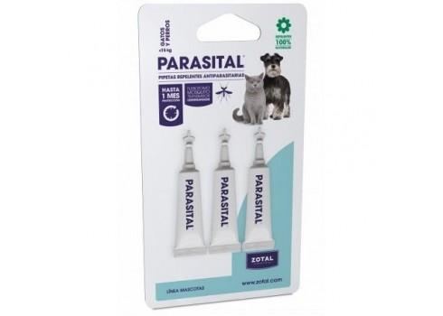 Parasital Pipettes Insectifuges les Chats et les Chiens 3uds