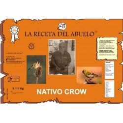 La receta del abuelo NATIVO CROW: 7 kg