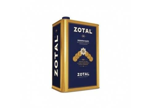 Zotal container 5 kg, disinfectant action