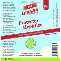 Legazin Protector Hepatic (milk Thistle + artichoke), 160ml