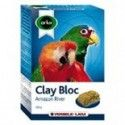 Versele Laga Orlux Block Mineral clay Amazon 550g for large parakeets and parrots.