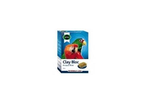 Versele Laga Orlux Bloque Mineral arcilloso Amazonas 550g para grandes periquitos y papagayos.