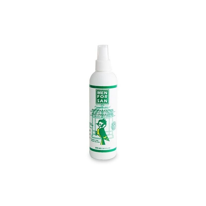 Menforsan spray antiparasitario externo para  aves 250ml
