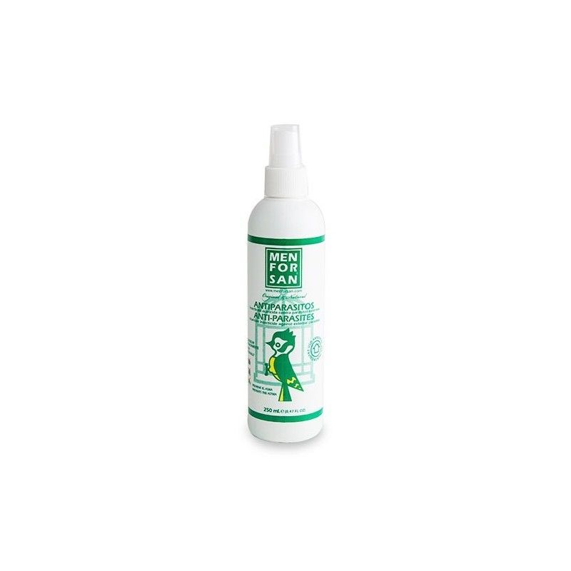 Menforsan spray antiparasitic external for birds 250ml