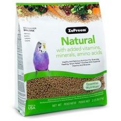 ZuPreem Natural Periquitos y Agapornis - S 1kg