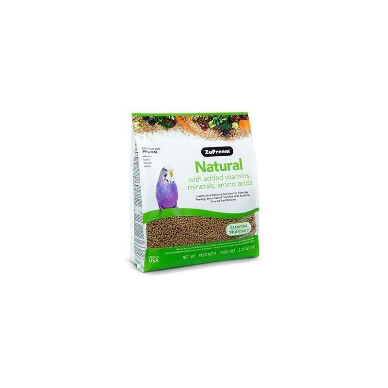 ZuPreem Naturel pour les Perruches et les Tourtereaux - S 1kg