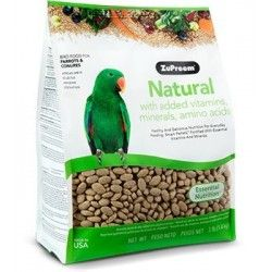 ZuPreem Natural Parrots and Parakeets - ML 1,13 kg