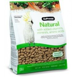 ZuPreem Natural Large Parrot - L 1.4 kg