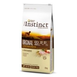 Nourriture pour chiens adultes True Instinct Original Medium - Maxi avec poulet 12Kg