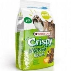 Alimento completo para conejos CRISPY MUESLI RABBIT VERSELE LAGA 1 kg