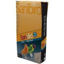 Arena sin polvo para jaulas de aves SANIBIRD 20 kg