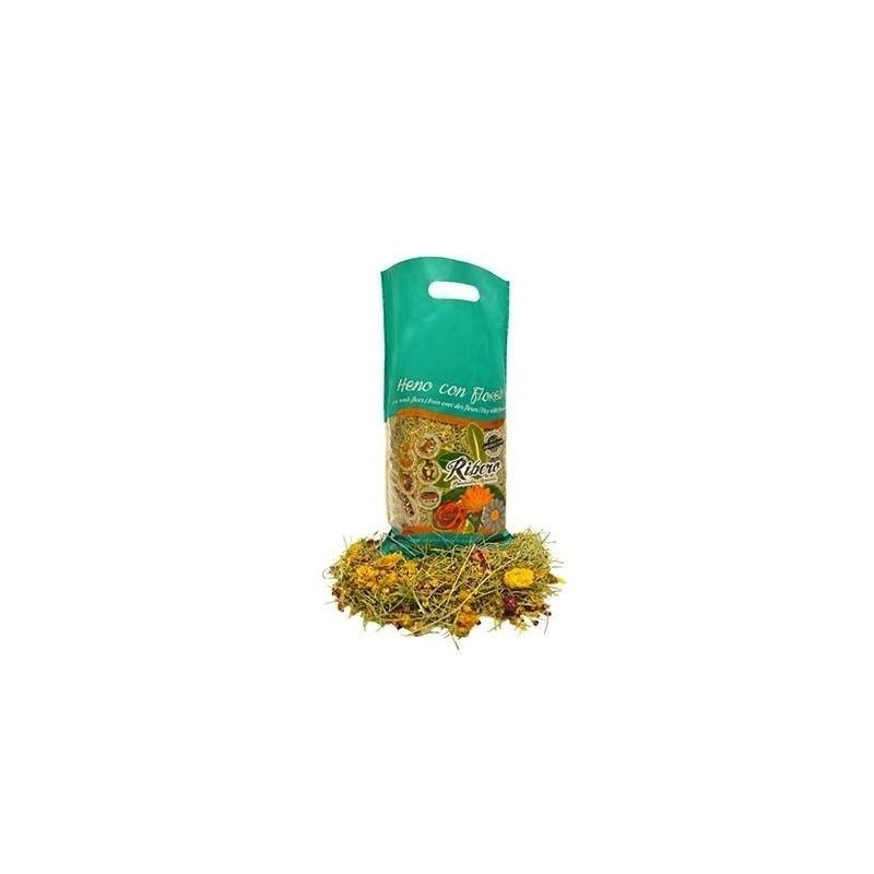 Le foin avec des Fleurs de 500 gr