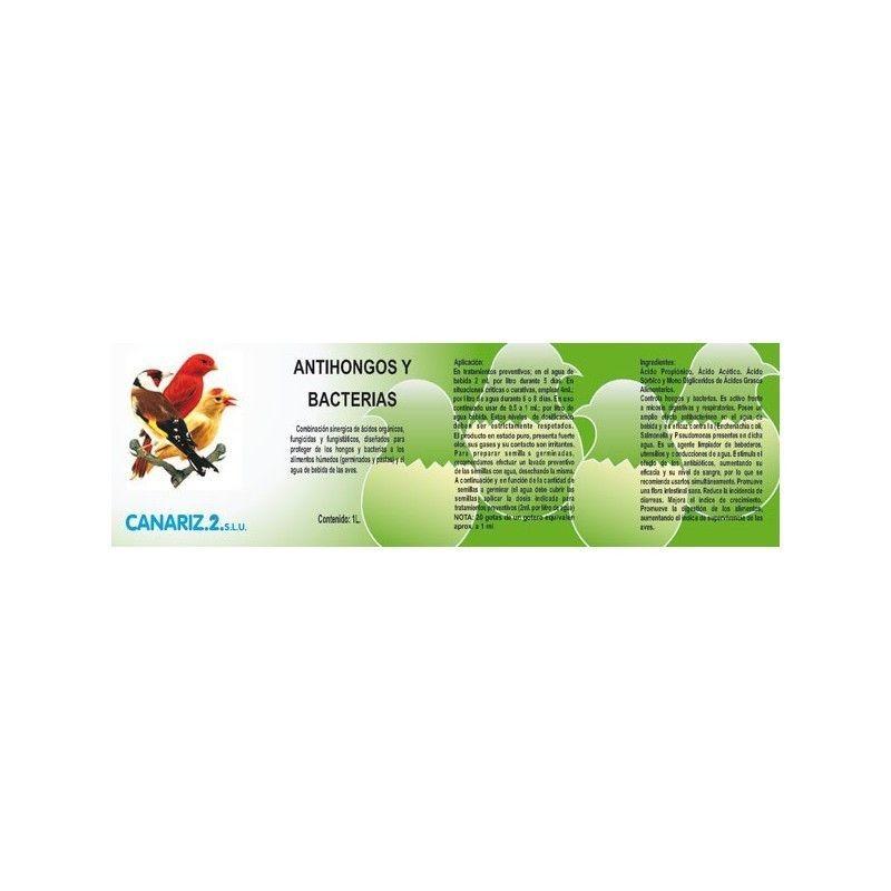 Antifongique et les Bactéries (probiotiques) canariz, 250ml