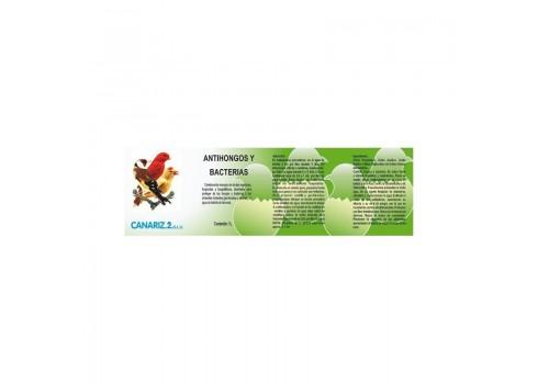 Antifongique et les bactéries (probiotiques) canariz, 1litre