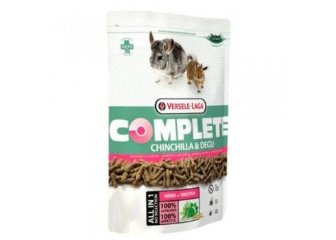 Complete chinchillas and degu, Versele Laga 500g