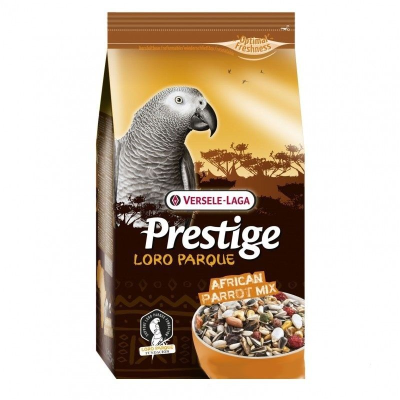 Prestige Loroparque african grey parrot, Versele Laga 2.5 kg