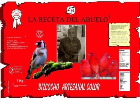 la receta del abuelo roja 7kg