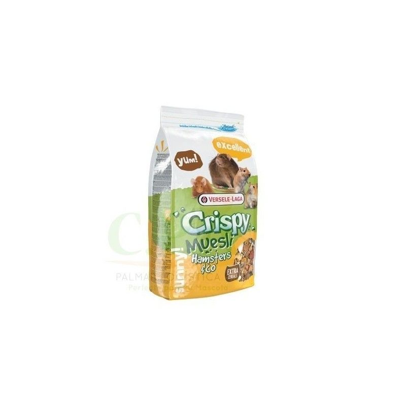 Crispy Muesli Hamsters & Co 400gr , Versele Laga