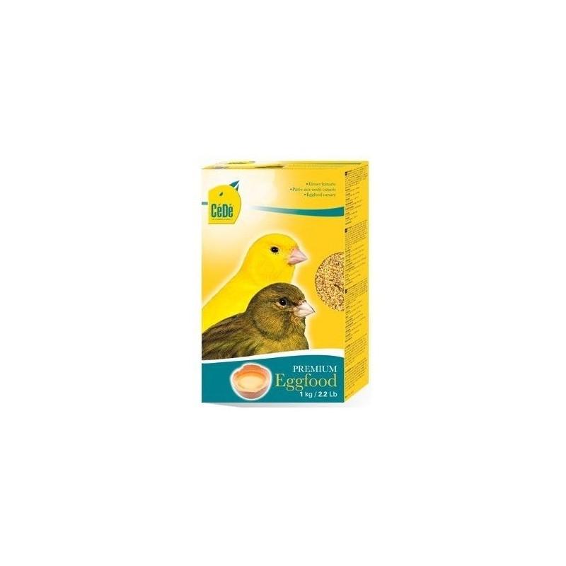 Cedé Eggfood canary Dry, 5kg, free 500gr