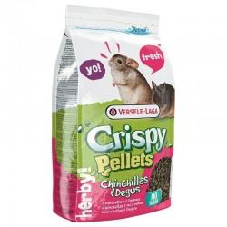 Versele-Laga Crispy Pellets para chinchillas y degús 1 kg