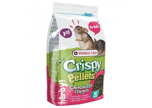Versele-Laga Crispy Pellets chinchillas et degus 1 kg