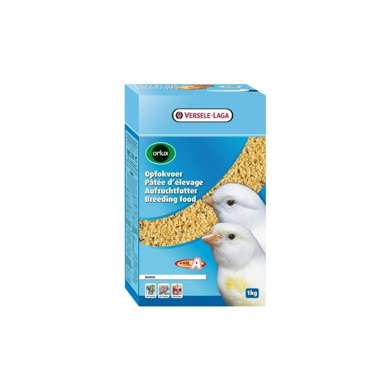 Versele Laga Orlux Pasta de cría seca blanca canarios 1 kg