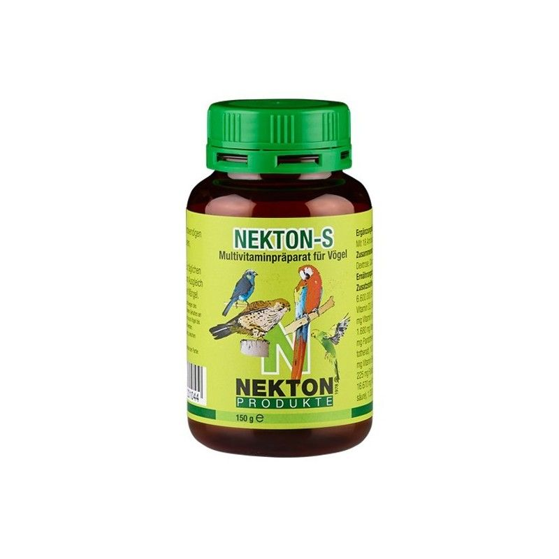 Nekton S 75gr, (vitamines, minéraux, et acides aminés)