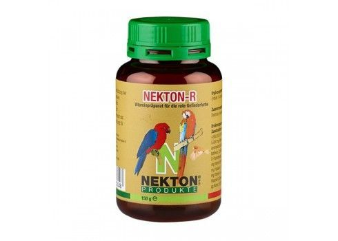 Nekton R 35gr, (pigment canthaxanthin enriched with vitamins, minerals and trace elements). Bird of red plumage