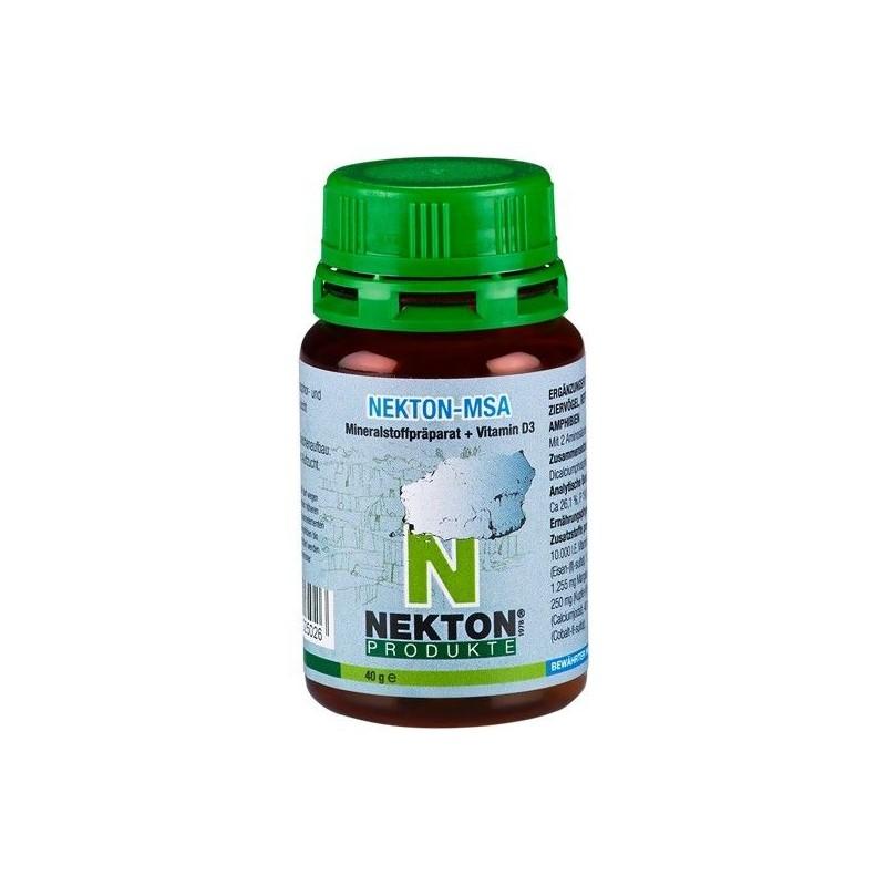Nekton MSA-40 gr (Supplément de minéraux et de vitamine D3