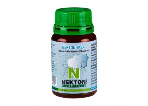 Nekton MSA-180 gr (mineral Supplement and vitamin D3) 180 gr