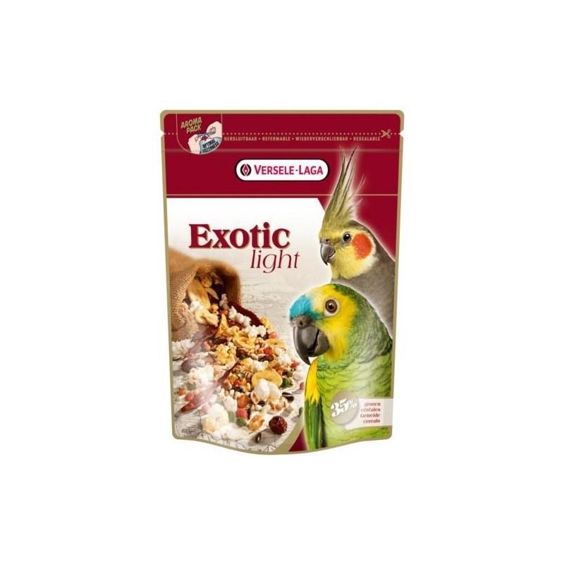 Versele laga Exotiques Lumière de la Nourriture pour perroquets de pop-corn, 750 g
