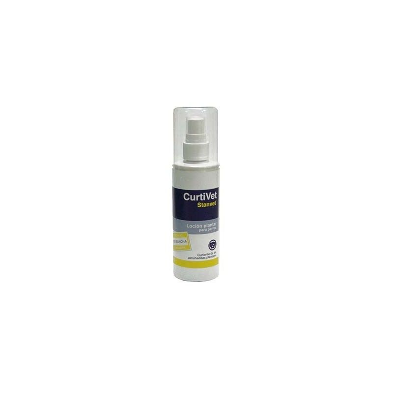 CURTIVET 125 ML, Lotion for the protection and care of the pads of the dogs.