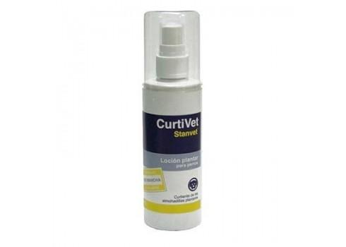 CURTIVET 125 ML, Lotion pour la protection et le soin des coussinets des chiens.
