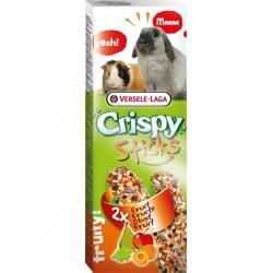 Crispy sticks fruits roedores