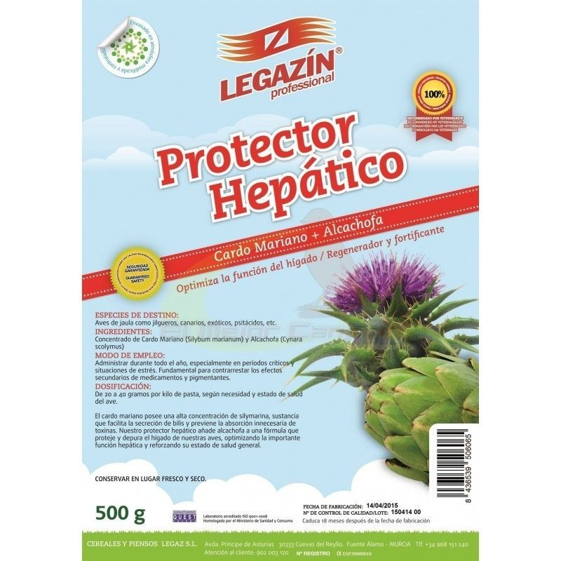 LEGAZIN PROTECTOR HEPATIC POWDER 500 GR