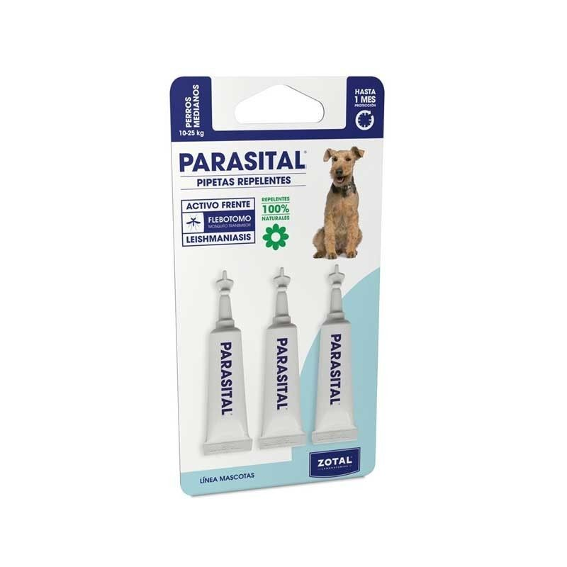 PARASITAL 3 PIPETTES DOG 10 TO 25 KG