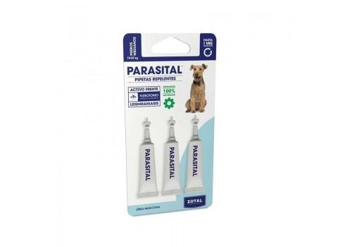 PARASITAL 3 PIPETAS PERRO DE 10 A 25 KG